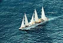 яхта Le Levant компания Compagnie du Ponant