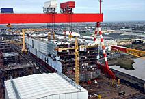 Лайнер Harmony of The Seas, строительство  лайнера