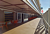 лайнер Costa Diadema  Променад 5 палуба