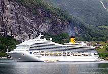 лайнер Costa Magica компания Costa Cruises