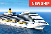 Costa Venezia - новый  лайнер от компании Costa Cruises