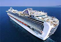 Лайнер Ruby Princess компания Princess Cruises