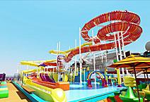 Лайнер Carnival Vista, аквапарк