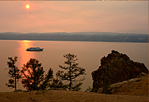 Теплоход Империя, круизы по Байкалу