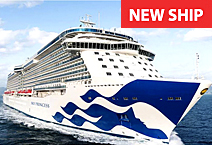 Круизный лайнер Sky Princess от компании Princess Cruises