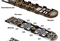 Экспедиционная яхта класса люкс Aria Amazon, план палуб
