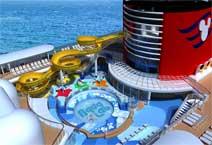 Лайнер Disney Magic,аквапарк