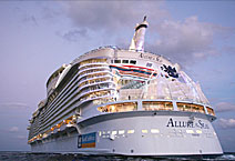 Лайнер Allure of the Seas