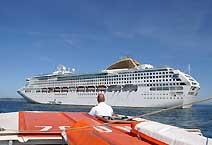 лайнер Oceana компания P&Q Cruises