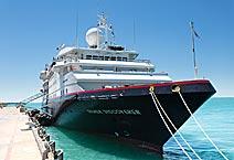 экспедиционное судно Silver Discoverer, компания Silversea Cruises