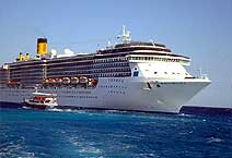 лайнер Costa Mediterranea компания COSTA CRUISES