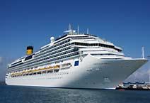 лайнер Costa Fascinosa круизная компания Costa Cruises
