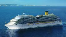 лайнер Costa Diadema компания Costa Cruises
