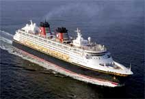 Лайнер Disney Magic, компания Disney Cruise Line