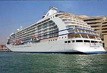 лайнер Seven Seas Voyager компания Radisson Seven Seas Cruises