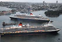 Лайнер Queen Elizabeth 2 Компания CUNARD LINE