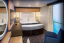 Лайнер Ovation of The Seas, внутренняя каюта с виртуальным окном