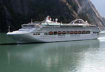 лайнер Sun Princess компания Princess Cruises