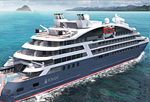 Мега-яхта LE BELLOT, компания PONANT