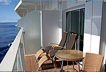 Лайнер Allure of the Seas, балкон