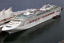 лайнер Sun Princess компания Princess Cruises
