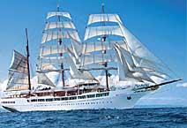 Яхта Sea Cloud II, круизная компания Sea Cloud Cruises