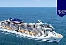 Круизный лайнер MSC Meraviglia, компания MSC Cruises Италия
