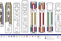 Лайнер Empress of the Seas, план палуб