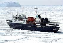 Экспедиционное судно ледового класса Ortelius