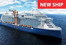Новый лайнер Celebrity Edge, круизная компания Celebrity Cruises
