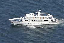 Coral I мега яхта класса люкс Галапагосские острова