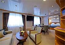 Лайнер Sea Dream I, круизная компания Sea Dream Yacht Club