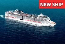 Лайнер MSC Grandiosa, круизная компания MSC Cruises
