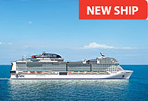 Лайнер MSC Bellissima круизной компании MSC Cruises