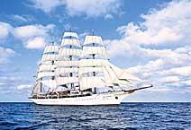 Яхта Sea Cloud, круизная компания Sea Cloud Cruises