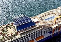 Лайнер Celebrity Edge, круизная компания Celebrity Cruises