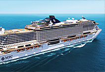 Круизный лайнер MSC Seaview, компания MSC Cruises Италия