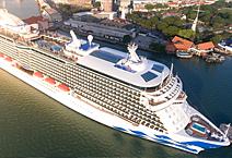 Princess Cruises: NEW: Sky Princess 5* LUX  (дебют в октябре 2019)