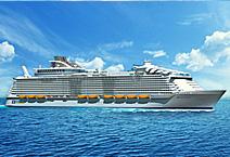 Лайнер Harmony of The Seas круизной компании Royal Caribbean