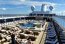 лайнер Regatta круизная компания Oceania Cruises