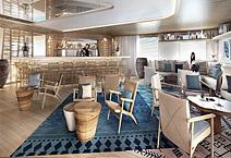 Мега-яхта LE BOUGAINVILLE, компания PONANT
