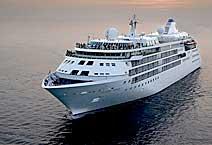 Лайнер Silver Wind, круизная компания Silversea Cruises