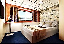 AURORA Премиум, одноместная каюта с панорамным окном