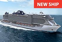 Лайнер MSC Seashore, компания MSC Cruises