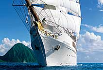Яхта Sea Cloud II, круизная компания Sea Cloud Cruises
