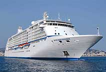 лайнер Seven Seas Voyager компания Radisson Seven Seas Cruises